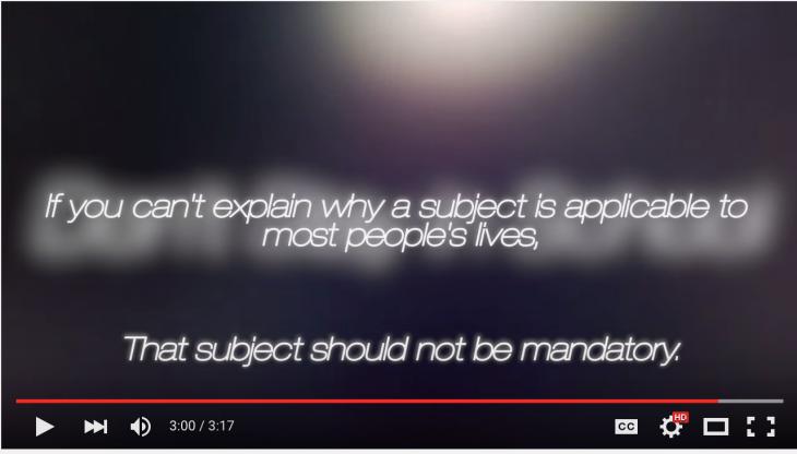 Screen capture of video (c)Boyinaband on Youtube.