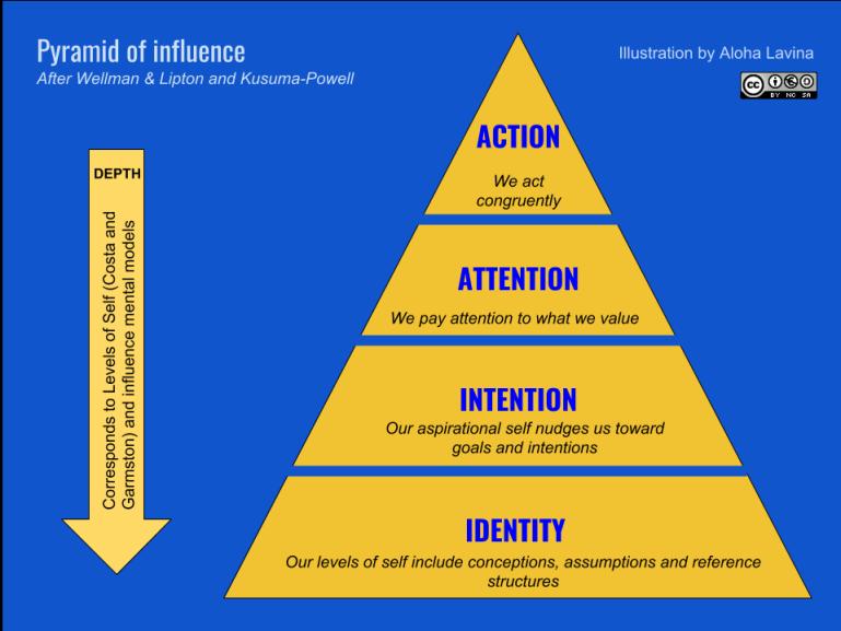Pyramid of influence
